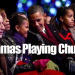 barack-michelle-obama-family-pretending-attending-church-easter-christmas-loungin-nappin-islam-mosque-muslim