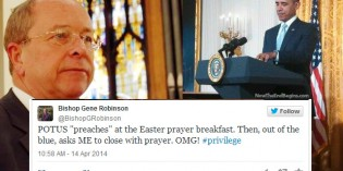 Obama Chooses Openly Gay Episcopal Bishop To Close White House Easter Prayer Breakfast