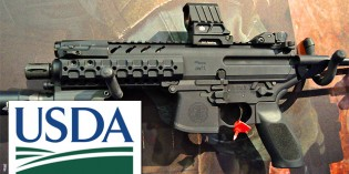 Obama's USDA Orders Submachine Guns With 30 Round Magazines And Night Scopes