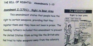Common Core School Books Teaching Outright Lies About The Second Amendment