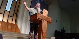 SEE IT! Duck Dynasty Star Phil Robertson Preaches Blistering Easter