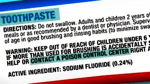 fluoride-call-poison-control-center