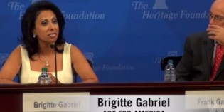 Brigitte Gabriel Forever Destroys 'Peaceful Muslim Majority' Argument Gets Standing Ovation (VIDEO)