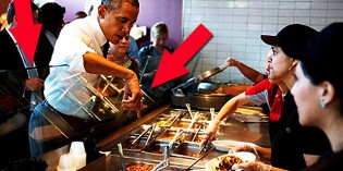 Obama Chipotle Photo-Op Illustrates His Sense Of Entitlement And Disregard For Law