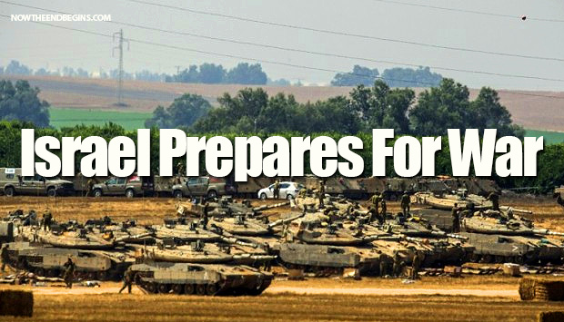 israel-prepares-for-war-hamas-gaza-1500-reservists-troops-july-8-2014