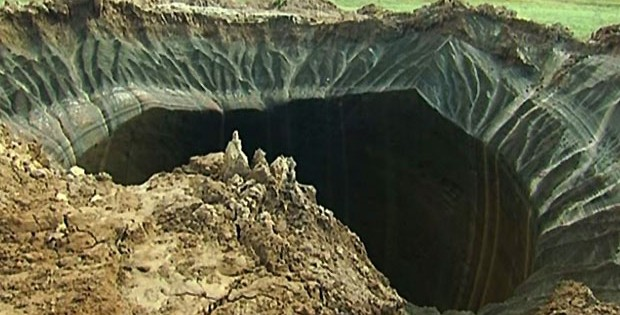 Two New Bottomless Holes Appear In 'End Of The World' Russian Village Of Yamal