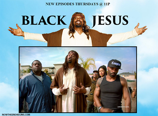 black-jesus-mockery-blasphemy-last-days-end-times-laodicea-adult-swim