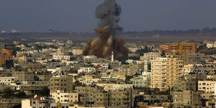 Rockets Rain Down On Tel Aviv As Hamas Breaks Ceasefire