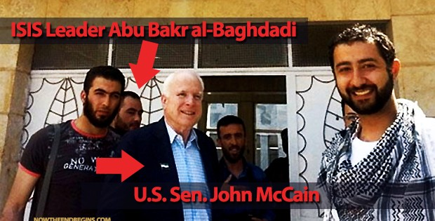 EXPOSED: ISIS Roared To Power Months After Secret Meeting With John McCain (PHOTOS)