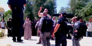 Outrage As Muslims Force Closure of Temple Mount for Jews (Video)