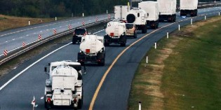 Ukraine Ups The Ante By Destroying Part Of Russian Military Convoy