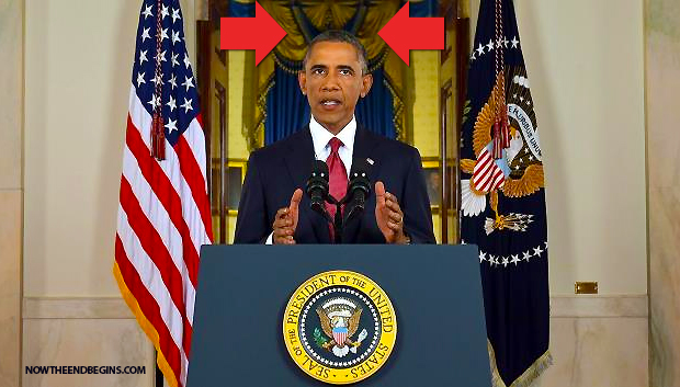 obama-isis-speech-shown-wearing-head-of-horns-antichrist