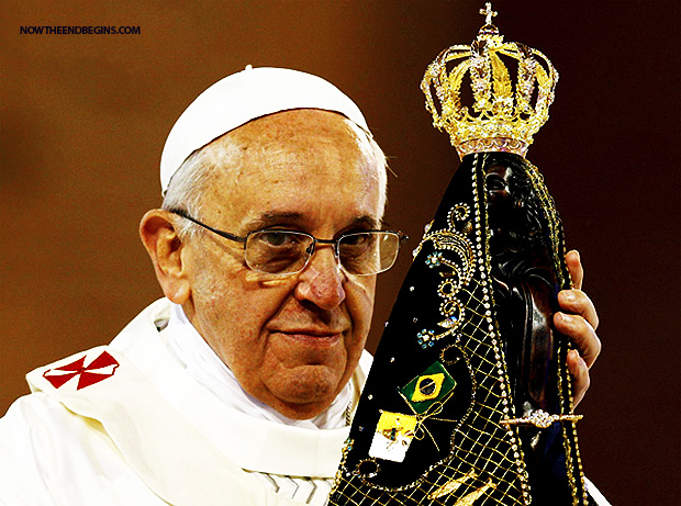 pope-francis-mother-mary-church-fourth-part-trinity-queen-of-heaven-idol-worship