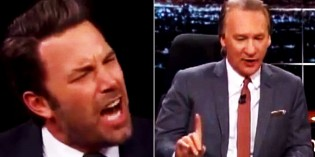 Ben Affleck Goes Ballistic In His Defense Of Islam And Sharia Law (VIDEO)