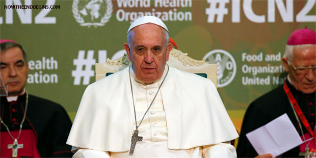 Doomsday Pope Francis Warns The Earth Will Not Forgive Us