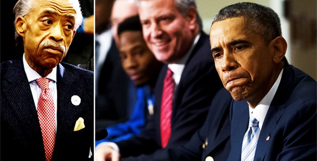 New Yorkers Explode In Anger At Race Baiters Sharpton, De Blasio And Obama For Cops Deaths