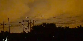 Blackhawk Helicopters Terrify Miami Residents After Dropping Live Bomb During Nighttime 'Training' Exercise