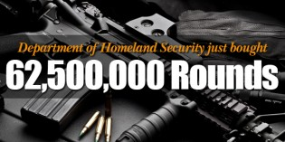 Homeland Security Needs Another 62 Million Rounds Of AR-15 Ammo