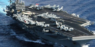US Navy Sends Aircraft Carrier USS Theodore Roosevelt To Stop Iran From Entering Yemen