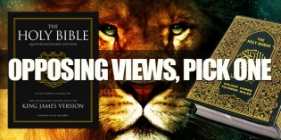 The God Of The Holy Bible VS. The Allah Of The Qu'ran