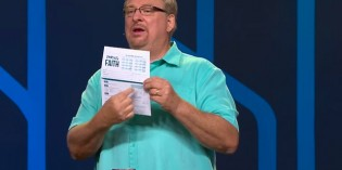 Rick Warren Teaching The Storehouse Tithing Heresy To Christians