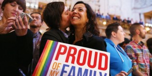US Supreme Court Defies God And Votes In Favor Of Same-Sex Marriage