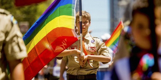 Nationwide Boycott Called As Boy Scouts Of America Adopt The LGBT Agenda