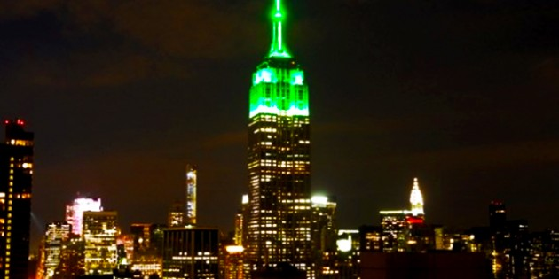Islamization Of America Continues As Empire State Building Lit Up In Green For Ramadan