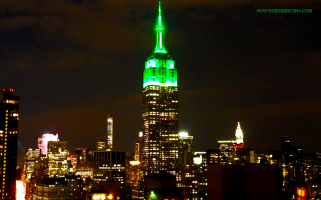 empire-state-building-nyc-lit-up-green-celebrate-end-ramadan-eid-mubarak-stop-islamization-of-america