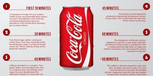 This Is What Happens One Hour After You Drink A Can Of Coke-Cola