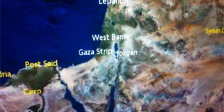 Air France In-Flight Map Removes The State Of Israel From Display Screen