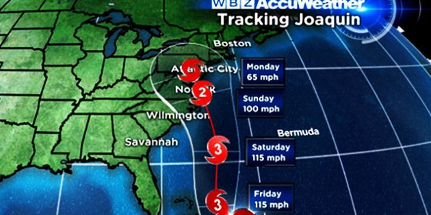 Do You Know What The Hurricane Name Of Joaquin Actually Means?