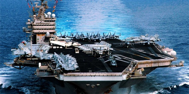 As Russia Bombs Syria, Obama Pulls US Aircraft Carrier Out of Persian Gulf