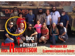 alan joins duck dynasty preaching jesus christ phil robertson now