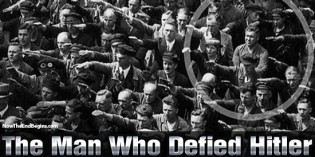 August Landmesser: The Man Who Refused To Salute Hitler