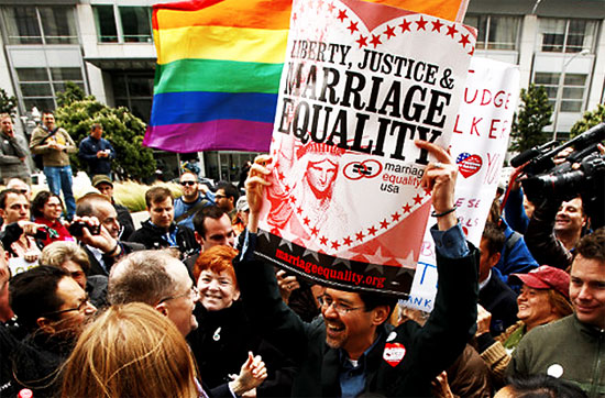 Gay marriage ban prop