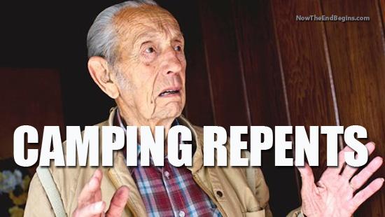 harold camping repents?
