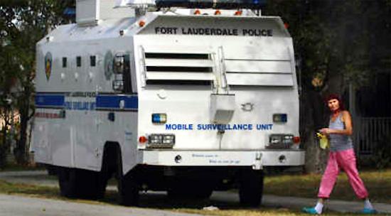 Ft Lauderdale Police Unleash Mobile Surveillance Vehicles Fort-lauderdale-florida-mobile-spy-vehicle-the-peacemaker-january-28-2012