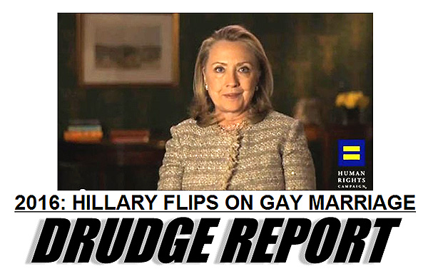 Hillary clinton on gay marriage