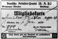 Did You Know That Adolf Hitler's Nazi Party ID Card Was 555?