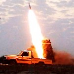 The rocket barrages fired from the Gaza Strip on Israel were launched using a multi-barrel rocket launcher,