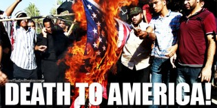 The Entire Muslim Middle East Shouts 'DEATH TO AMERICA!'