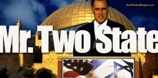 REVEALED! Mitt Romney Set To Endorse A PALESTINIAN STATE At RNC Convention