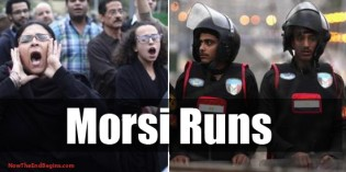 GET OUT! Egypt's President Morsi Flees Palace As Islamist Protests Reach Fever Pitch