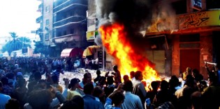 TORCHED! Muslim Brotherhood Offices Set On Fire All Across Egypt