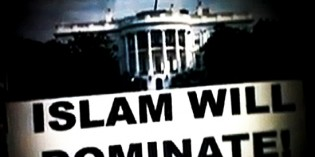 The Flag of Islam Flying Above the White House Movie Makes Bloomberg Go Ballistic