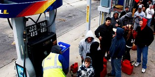NJ State Troopers Deployed As Tensions Boil At Gas Stations In Sandy's Wake