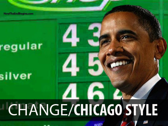 OBAMA MAKES GAS PRICES HIGHER