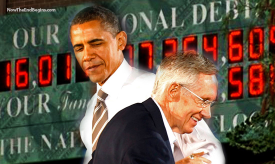Barack Obama Harry Reid National Debt