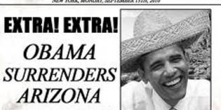 Obama's Hat Dance Around Calderon